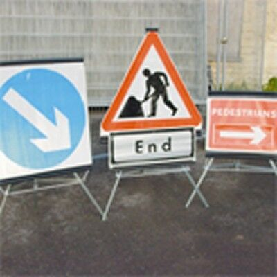 Folding Traffic Sign - Includes Tripod - 750mm