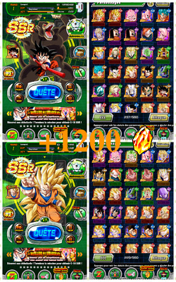 Fresh Rank 1 – +1200 DS for ANDROID — Fresh Global Account Dokkan Battle