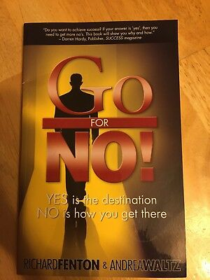 Go For NO! book by Richard Fenton and Andrea Waltz
