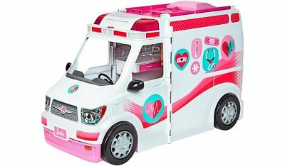 Barbie Care Clinic Ambulance Playset with Accessories