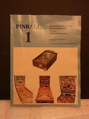 Rare Pinball Volume 1 Book Covers 1775 To 1931 With Ads & Top 100 Games
