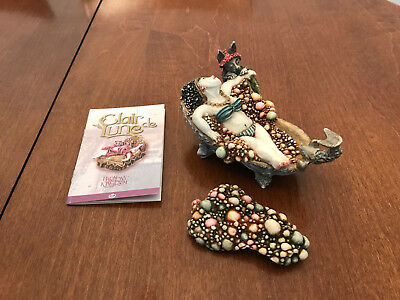 HARMONY KINGDOM ORIGINAL BOX FIGURINE CLAIR DE LUNE Colette & Ca CLLECT