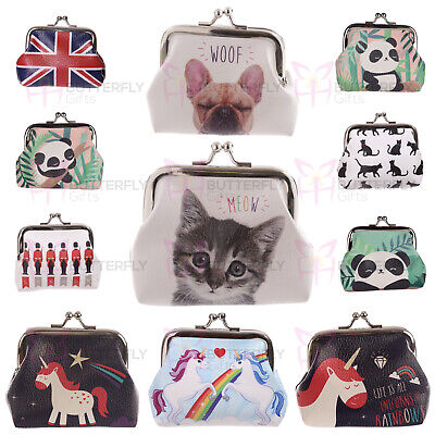 Childrens Kids Ladies Small Coin Cards Purse Tic Tac Purse Metal Clasp Purse New
