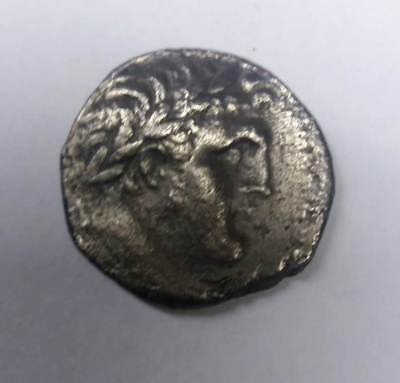 Very Rare Silver Shekel Of Tyre Ancient Judea Authentic Old Coin  126 BC - 65 AD