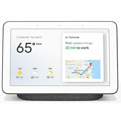 Google Home Hub with Google Assistant - Charcoal GA00515-US