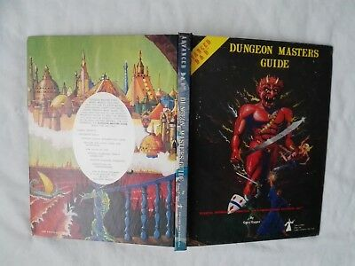 DUNGEON MASTER GUIDE 1979 AD&D 1st EDITION  ADVANCED DUNGEONS & DRAGONS GUT