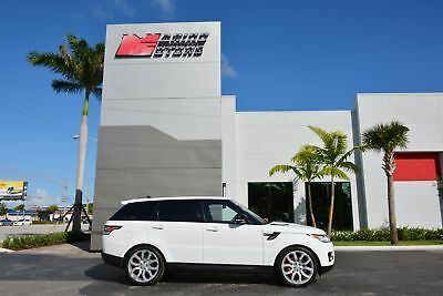 2016 Land Rover Range Rover Sport Supercharged Dynamic 2016 RANGE ROVER SPORT SUPERCHARGED DYNAMIC - ONLY 17,000 MILES - WARRANTY