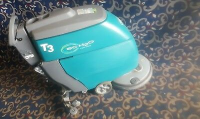 """Tennant T5 24"""" battery-powered floor scrubber with FREE shipping!"""