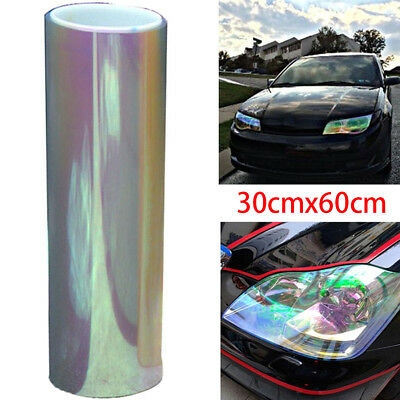 Chameleon color changing tint vinyl wrap sticker headlight film car light lampTA