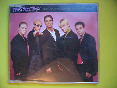Backstreet Boys-Quit Playing Games. 1996 4 Track Cd Single. Pop Disco Soul