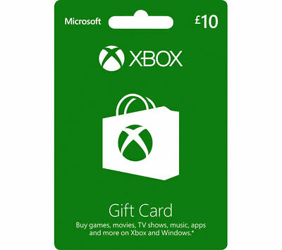 MICROSOFT Xbox Live Gift Card - £10 - Currys