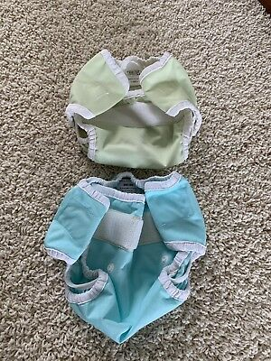 Thirsties Diaper Covers, lot of 2, Xsmall & size 1 adjustable, Velcro closure