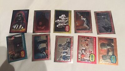 Star Wars Topps Chrome Archives Trading Cards Lot