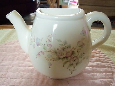 Collectable  Floral Teapot Wall Pocket- Unmarked