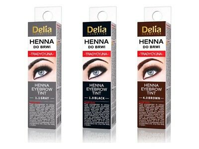 DELIA HENNA Traditional Powder Eyebrow Eyelashes 2g