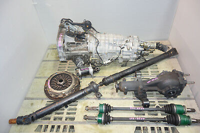 JDM Subaru Legacy Spec-B 6speed Awd Transmission Axles Rear Differential 2003-09