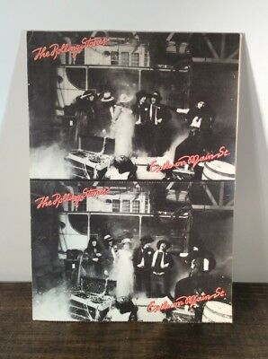 "Set of 12 ""Exile On Main Street"" Postcards from the Rolling Stones Album"