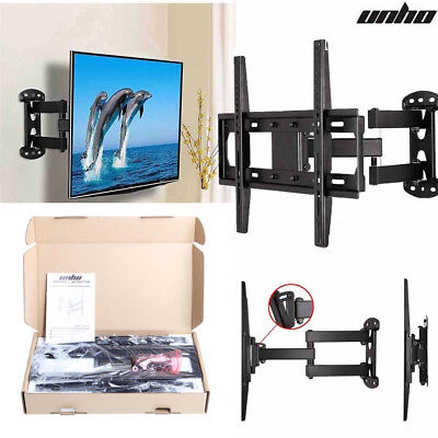 TV Stand Wall mount Full motion Swivel 180°Bracket For 26-55 Inch Adjustable LCD