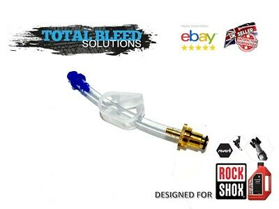 RockShox Bleed Fitting Charger Damper Fits Basic Rockshox Bleed Kit 3 mm ID