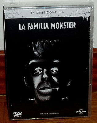 Family Monster Series Complete 12 Discs Dvd New Sealed (Unopened) R2