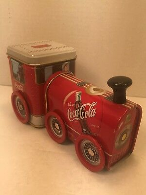 Coca-Cola Train Engine Tin , Excellent Condition, Collectible