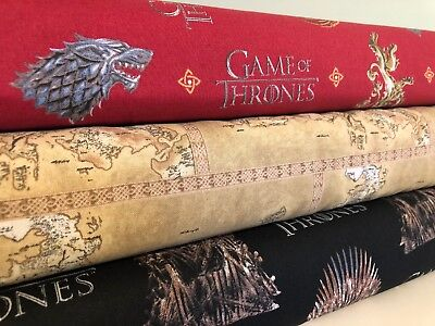 Game of Thrones GOT Licenced 100% cotton fabric *sold per fat quarter*