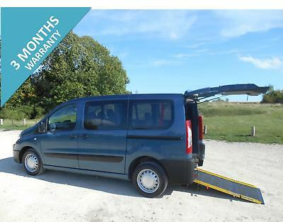 2011 Peugeot Expert 5 Seat Wheelchair Accessible Disabled Vehicle