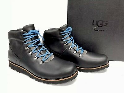 09e54f924a2 UGG AUSTRALIA HAFSTEIN Charcoal Men's Waterproof Ankle Boots Shoes 1017730  sizes