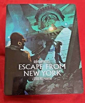 ESCAPE FROM NEW YORK - BLU-RAY Steelbook Edition