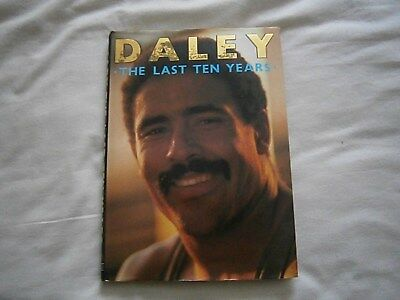 The Last Ten Years  by Daley Thompson.Issued 1986