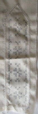 The Stitchery # 3492 Bookmark With Cross-Stich Design To Embroider