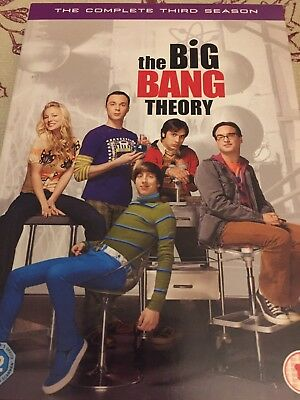 The Big Bang Theory - Series 3 - Complete (DVD, 2010)