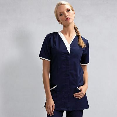 Ladies Workwear 'Daisy' Healthcare Tunic Nursing Care Uniform - 4 Colours