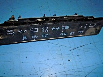 land rover defender 110 90 24v military instrument light indicator dash panel