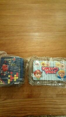 McDonald's Happy Meal Toys new connect 4 & guess who