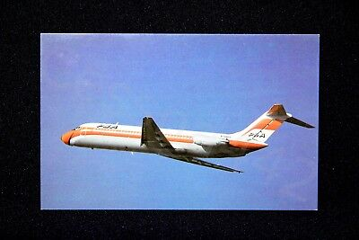 PSA Vintage Postcard DC-9-32 Pacific Southwest Airlines N706PS NEW 1983 Gift