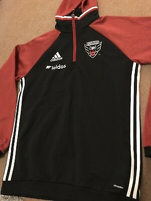 DC United Adidas Training Travel Top MLS
