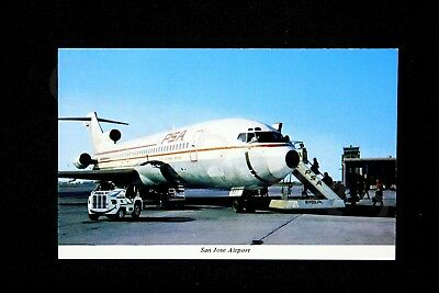 PSA Vintage Postcard 727 San Jose SJC Pacific Southwest Airlines NEW Gift RARE