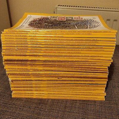 Huge bundle of National Geographic magazines (Job Lot, collect from WF8)