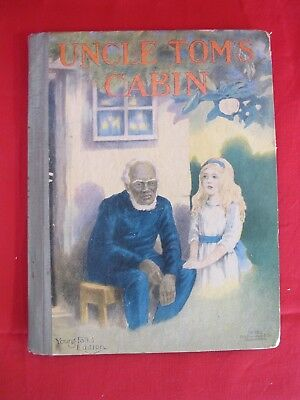 Antique Uncle Tom's Cabin Young Folk's Edition Stowe Circa 1900 Black Americana