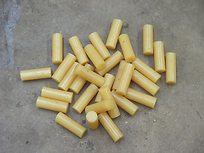 "3M Scotch weld hot melt adhesive 1"" diameter x 3"" long 30 pieces 2 1/2 lbs"