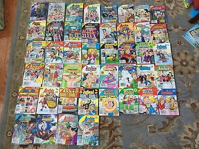 44 ARCHIE DIGEST Jughead, Pals&Gals,Betty&Veronica, Double Digest Comic Book Lot