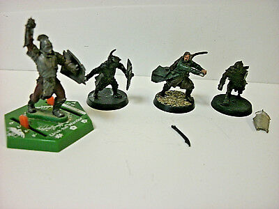 Lord of the Rings Miscellaneous x 4 Painted