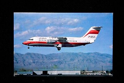 PSA Vintage Postcard Bae-146-200 Pacific Southwest Airlines N352PS NEW Gift RARE