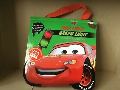 Disney Pixar - Cars Red Light, Green Light Book ( plus audio disc )