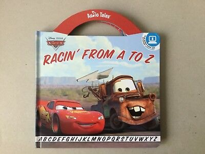 Disney Pixar - Cars Racin' From A To Z Book ( plus audio disc )