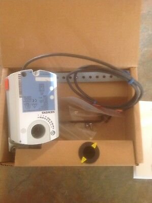 Electric Actuator,44 in.-lb.,-25 to130 SIEMENS GDE131.1P