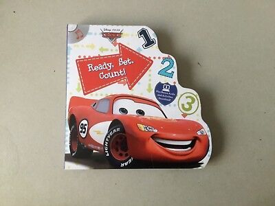 Disney Pixar - Cars Ready Set Count ( plus audio disc )