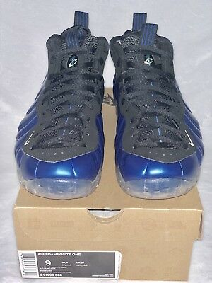 d6ea7623e577 100% NIKE AIR FOAMPOSITE ONE ROYAL Rare PENNY Sz. 9 DS OG VINTAGE HEAT