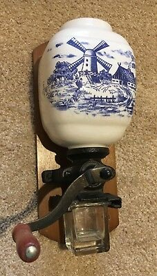 Vintage/Antique Dutch Windmill Coffee Grinder